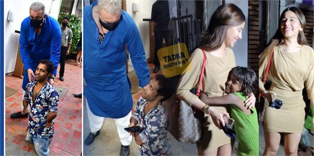 aliya farnicharwala and sanjay dutt sweet gesture for fans