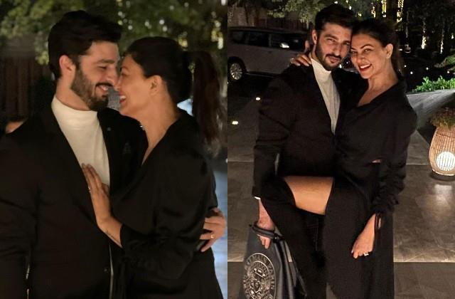 sushmita sen shares romantic photos on boyfriend rohman shawl birthday