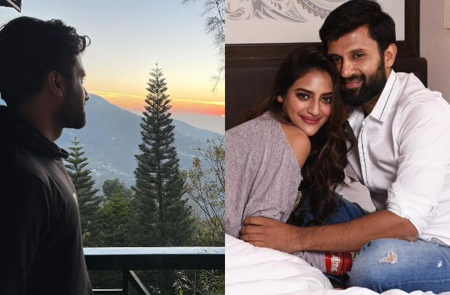 nikhil jain enjoying himachal trip without wife nusrat jahan