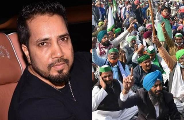 mika singh send thousands of water bottles to protesting farmers
