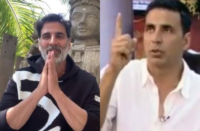 akshay old video viral which he said pouring milk pouring in temple wastage
