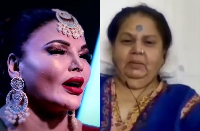 rakhi sawant cried like hell after seeing her mother during family week