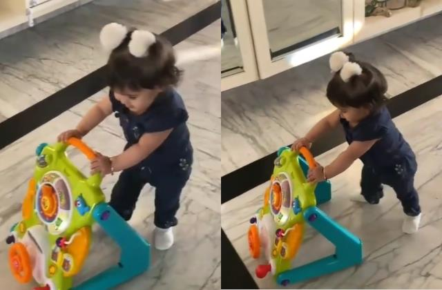 kapil sharma daughter anayra learning to walk actor shares cute video