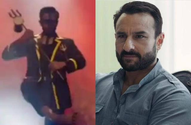 saif ali khan tandav web series in controversy for making fun of hindu god