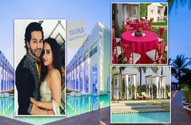 varun dhawan and natasha dalal wedding resort rent is 4 lakh for one night