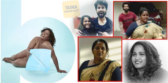 kabir singh fame actress vanita kharat without clothes photoshoot picture viral