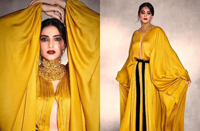sonam kapoor ahuja looks bold in sultry stephane rolland gown