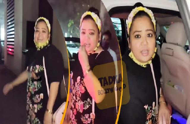 bharti singh shows her funny side in front of camera users trolled