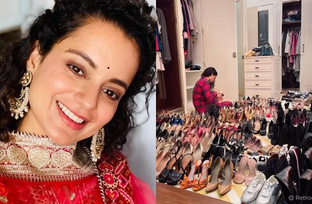 kangana ranaut spent last day of 2020 cleaning the shoes share photo