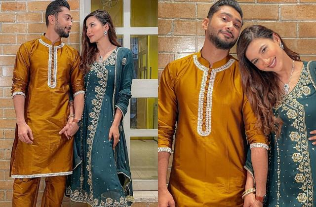 gauahar khan shared romantic photos with husband zaid darbar