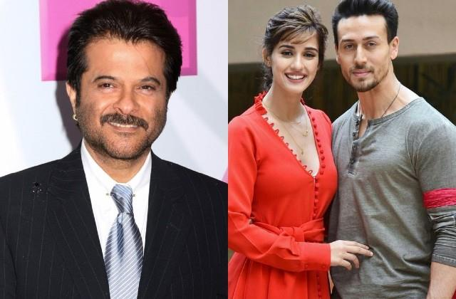 anil kapoor confirms about tiger shroff and disha patani relation