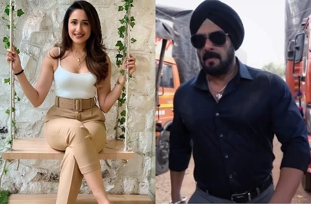 pragya jaiswal will share screen with salman khan in film antim