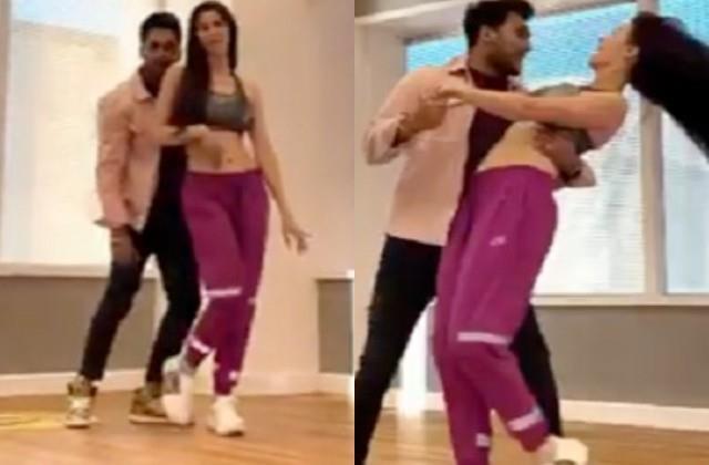 arbaaz khan girlfriend giorgria andriani dance video viral