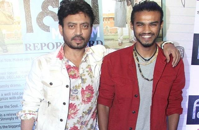 irrfan khan son babil khan talks about his acting debut in films