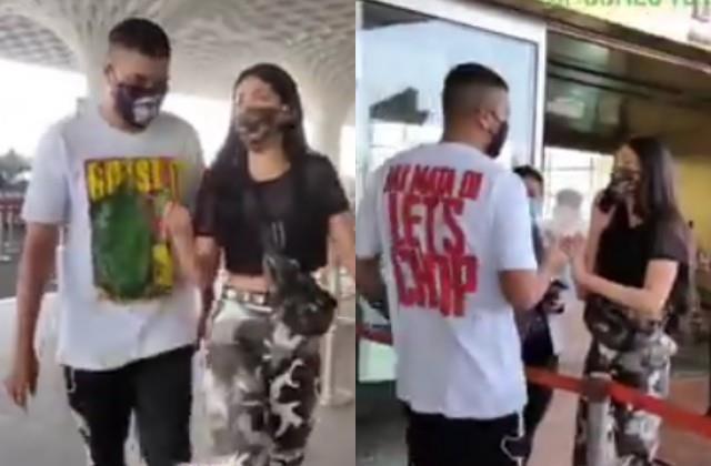 boyfriend santanu hazarika leaves shruti haasan in airport