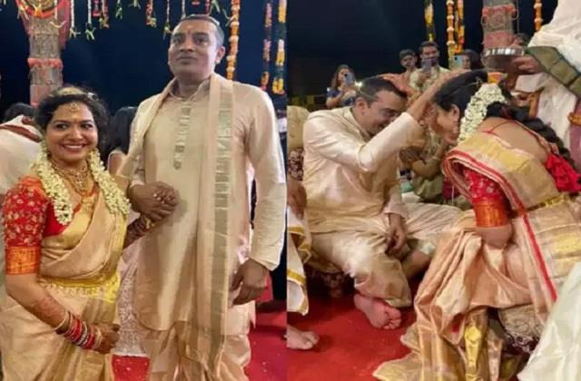 telugu singer sunitha upadrashta married to her friend ram veerapaneni