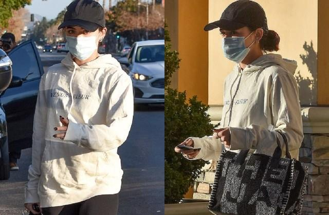 lucy hale spotted on california streets