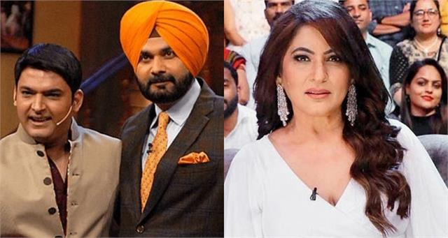 archana say kapil sharma will surely make me navjot singh sidhu enemies