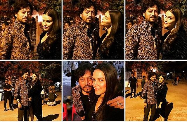 neha dhupia share series of pictures with irrfan khan