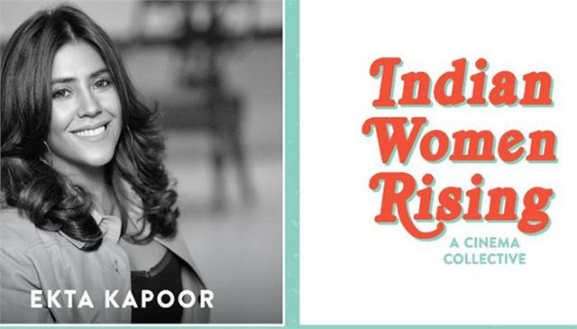 ekta kapoor guneet monga and tahira come together to launch indian woman rising