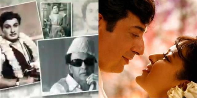 thalaivi makers gave tribute on m g ramachandran104th birth anniversary
