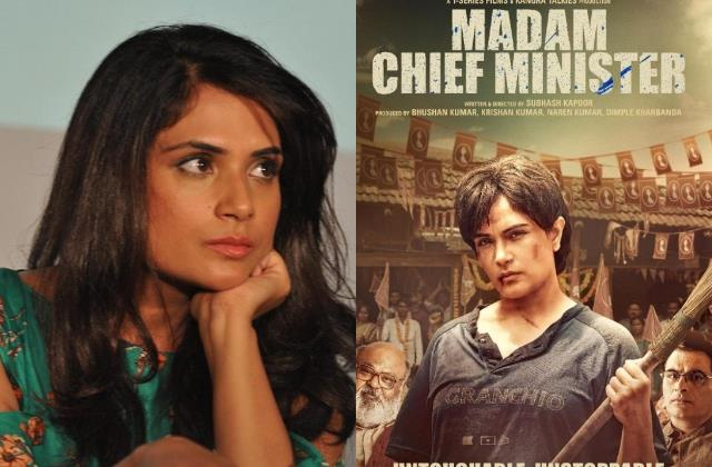 richa chadha post apology letter after criticism for madam chief minister poster