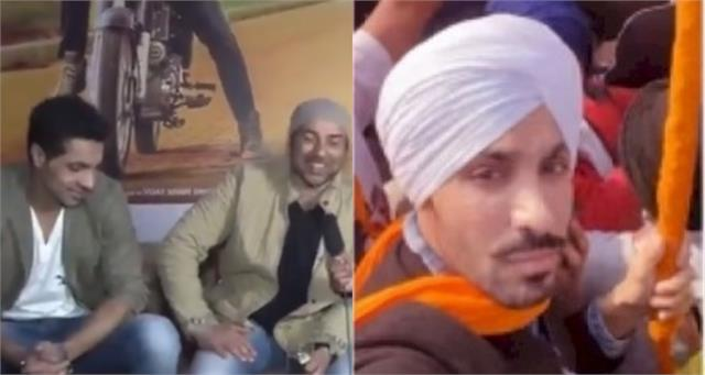 when sunny deol said deep sidhu is like my younger brother video viral