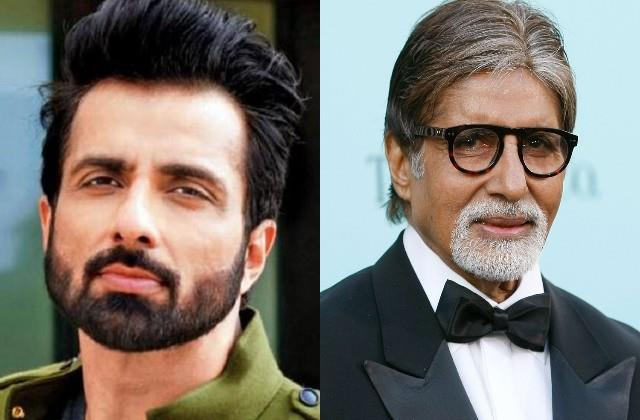 amitabh bachchan congratulates sonu sood for a new film kisaan