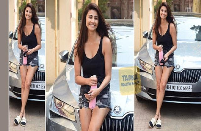 daisy shah spotted outside the studio