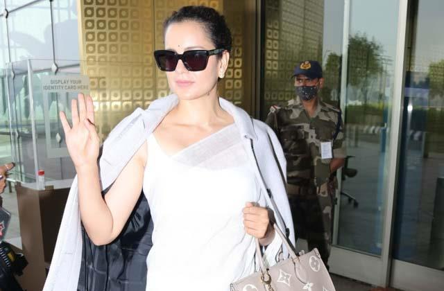 kangana ranaut faces protest in bhopal as she shoots for dhaakad