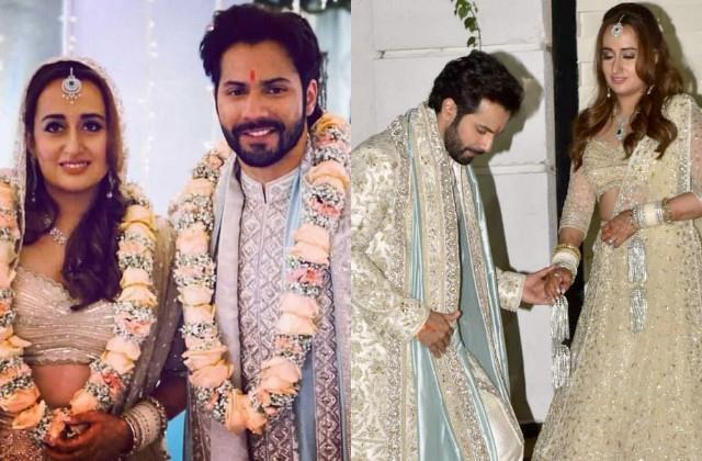 varun dhawan first tweet after marriage with natasha dalal