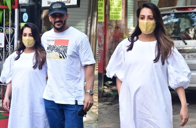 anita hasnandani with hubby rohit reddy spotted at women hospital