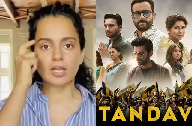 kangana ranaut defends take their heads off tweet about tandav