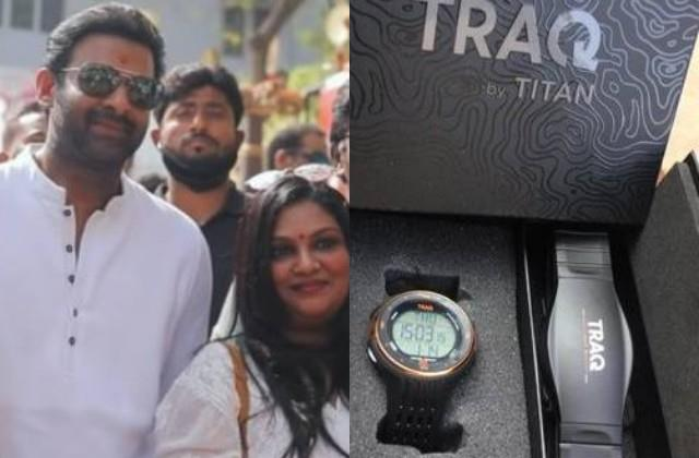 prabhas gifted watches to the team of radhe shyam on makar sankranti