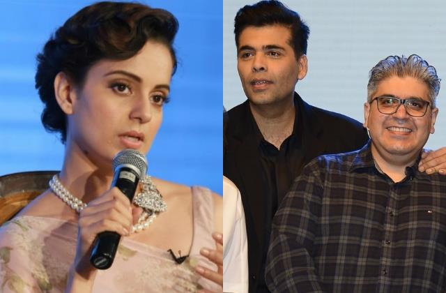 kangana slams film critic rajiv masand for join karan johar dharma productions