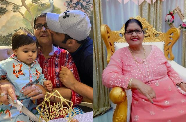 kapil sharma celebrate his mother janak rani birthday