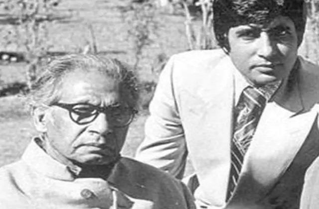 amitabh bachchan shares throwback with father remembering coolie accident