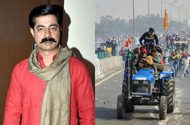 savdhaan india host sushant singh tweet on farmers tractor rally violence