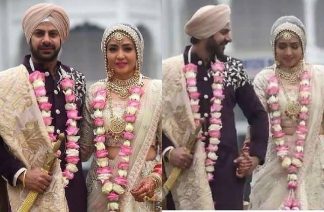 karan veer mehra ties knot with girlfriend nidhi v seth