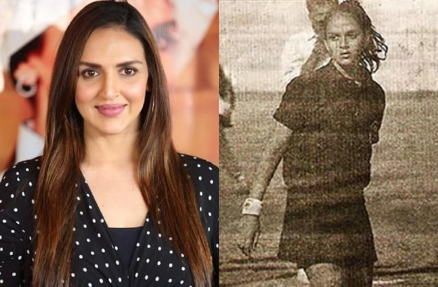 isha deol share her first photo pusblished in newspaper