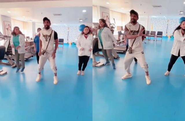 remo dsouza dances mukabala song with doctors team after heart surgery
