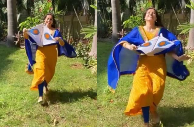 मकर संक्रांति पर दीपिका सिंह ने उड़ाई पतंग, वीडियो शेयर कर बोलीं 'आज का दिन सूर्य को समर्पित