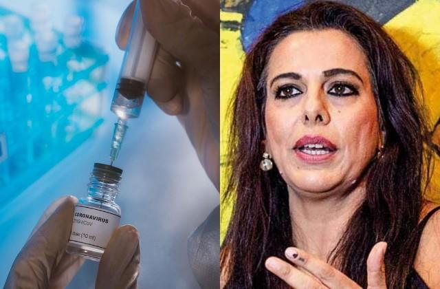 pooja bedi raises questions over corona vaccine