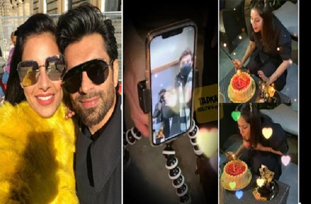 bipasha celebrates her birthday with husband karan singh grover on video call