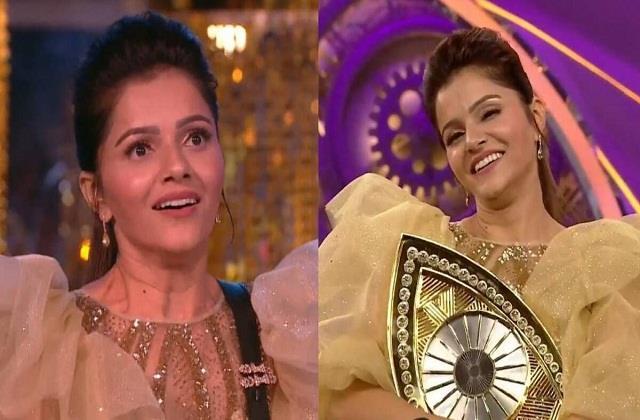 rubina dilaik wins bigg boss 14 title rahul vaidya is runner up