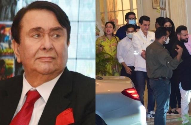 randhir kapoor clarification for birthday celebration post rajiv kapoor death
