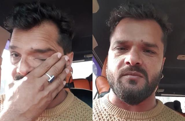 khesari lal yadav emotional in live and said industry will make me sushant