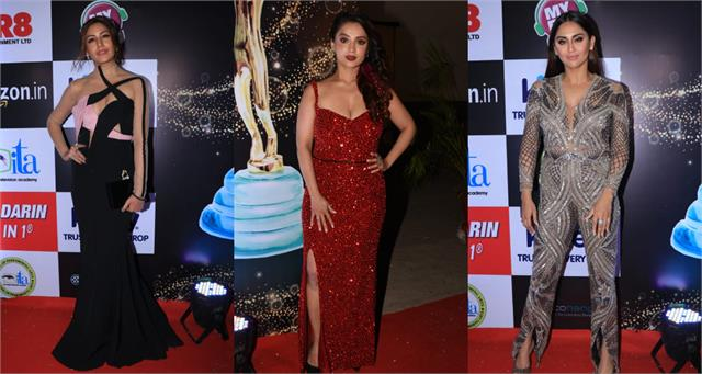 surbhi chandna krystle d souza and other celebs join ita awards