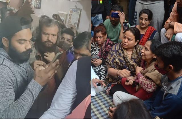 bjp mp hans raj hans meets rinku sharma family announces financial assistance