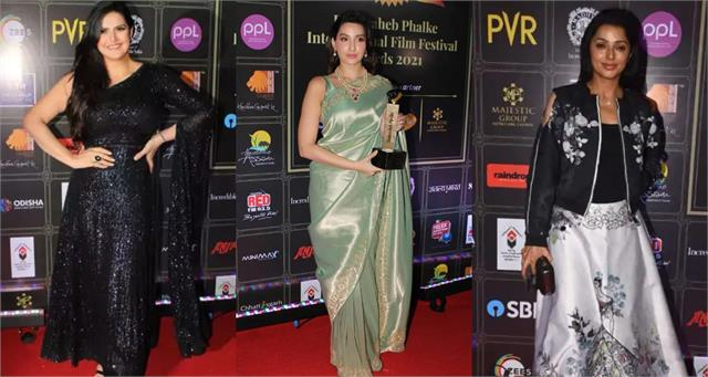 nora fatehi to divya khosla stars at dadasaheb phalke awards